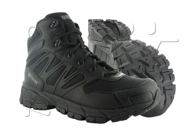 CHAUSSURES MAGNUM UNIFORCE 6.0 SEMI-MONTANTES BLACK