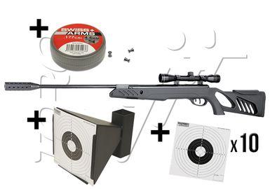 SWISS ARMS Cible m/étal conique pour Airsoft 6mm ou Airguns 4,5 mm