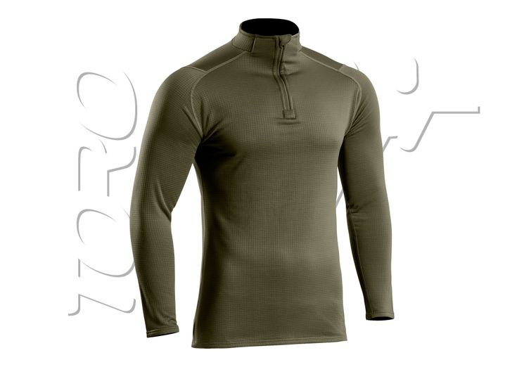 SWEAT MAILLOT ZIPPE THERMO PERFORMER NIVEAU 3 OLIVE