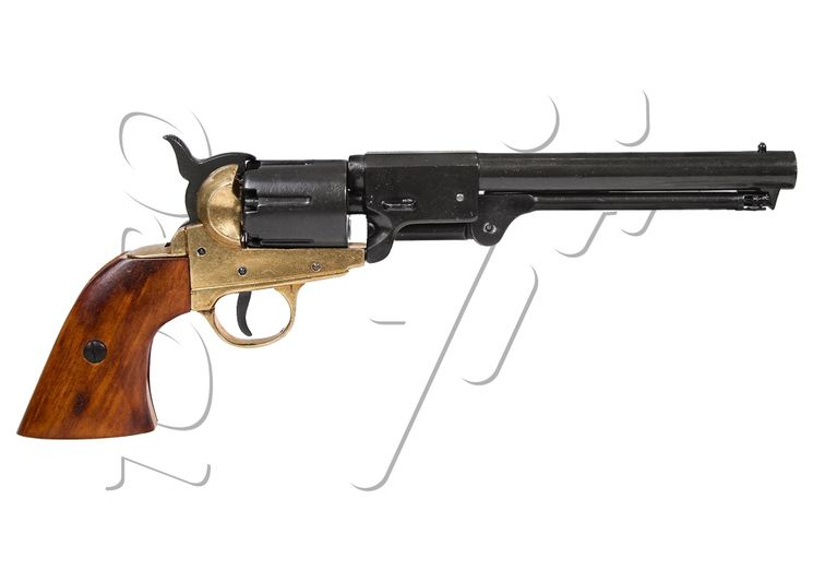 Réplique DECORATIVE REVOLVER 1851 MARINE AMERICAINE DENIX