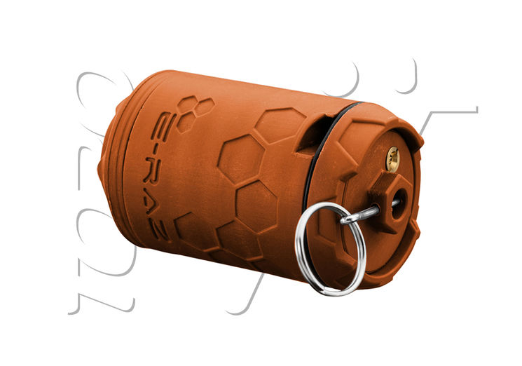 Grenade ROTATIVE E-RAZ 100BBs GAZ Z-PARTS ORANGE