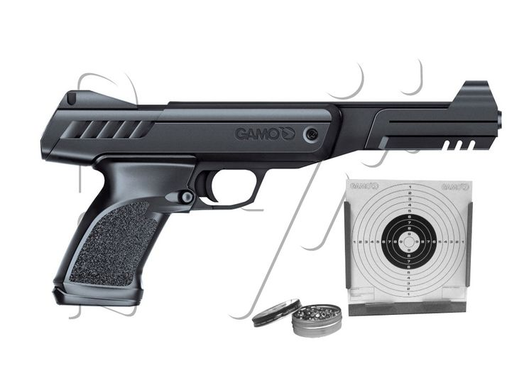 Pistolet 4.5mm air comprimé P900 GUNSET KIT GAMO