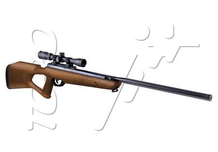 Carabine 55mm Benjamin Trail Crosman Nitro Piston 2 Bois Lunette