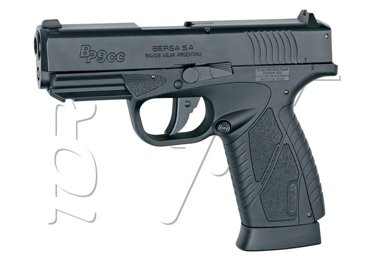 Pistolet BERSA BP9CC BLOWBACK CO2 ASG
