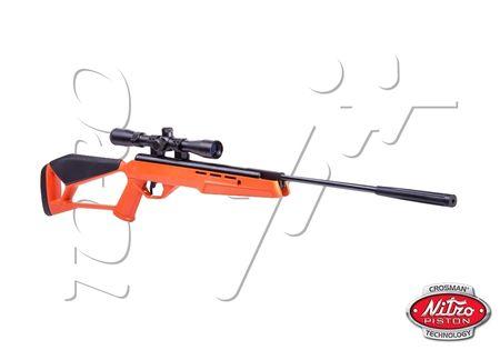 Carabine 45mm Blaze Orange Crosman Nitro Piston Lunette Toro
