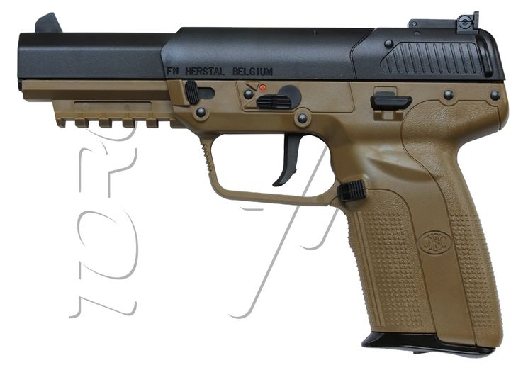 Pistolet FN HERSTAL FIVE SEVEN DARK EARTH CO2