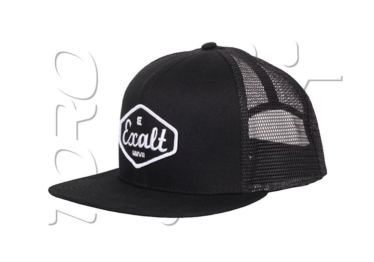 Casquette ajustable EXALT TRUCKER 909 BLACK